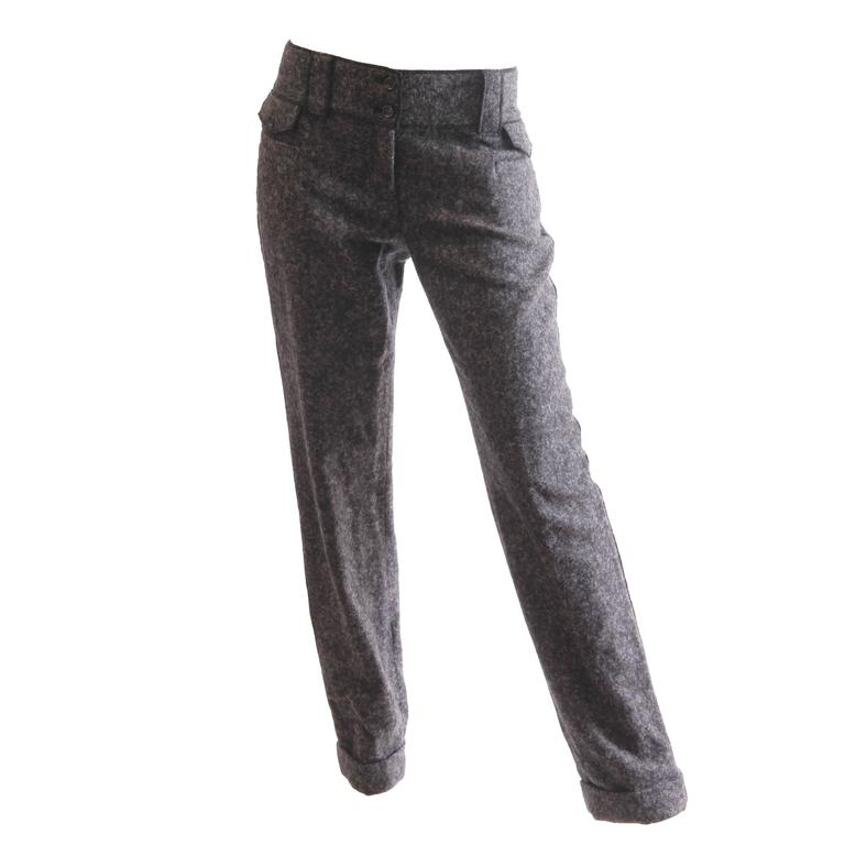 Dolce and Gabbana Cashmere Trousers For Sale
