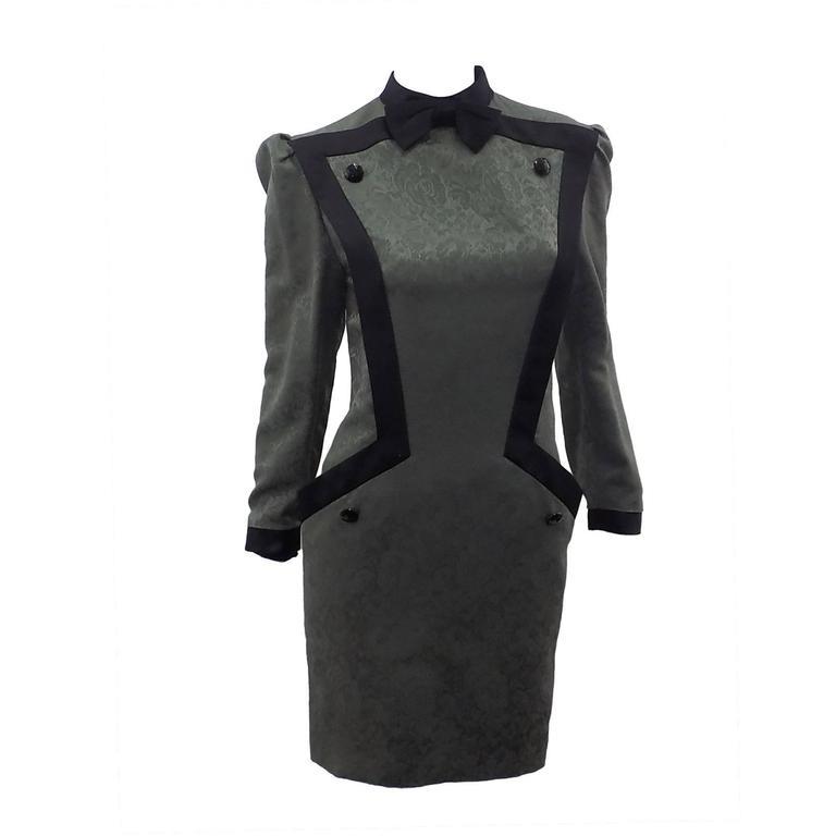 1960's Nina Ricci Boutique Spectacular  Dress
