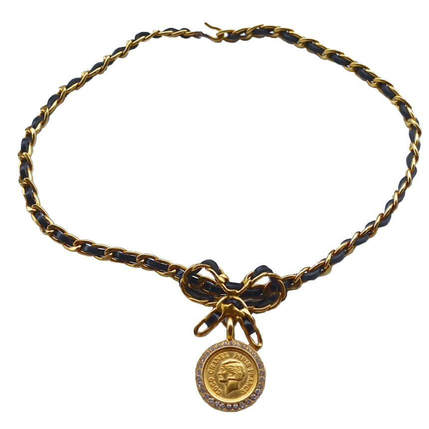 Versace Medusa Gold Chain For Sale