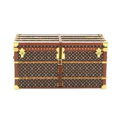 Louis Vuitton Limited Edition Monogram Canvas Desk Decorative Object Mini Trunk