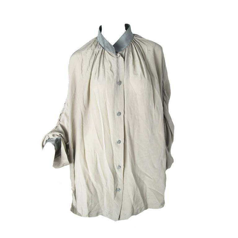 Vivienne Westwood Anglomania Chiffon Pirate Blouse For Sale