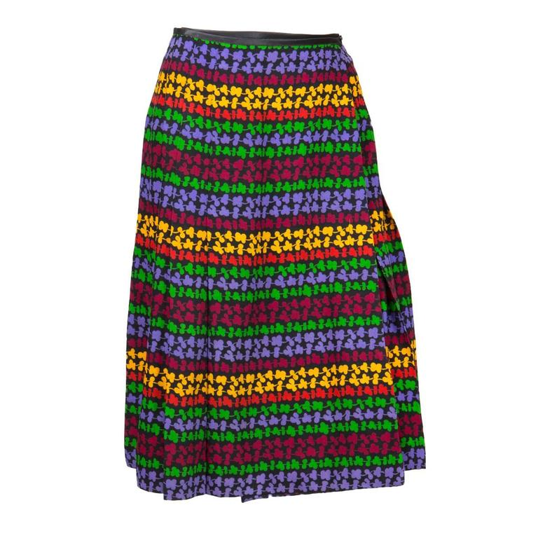 Saint Laurent Multicoloured Skirt