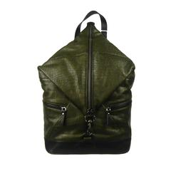 Jimmy Choo Crocodile Embossed Oliver Fitzroy Backpack