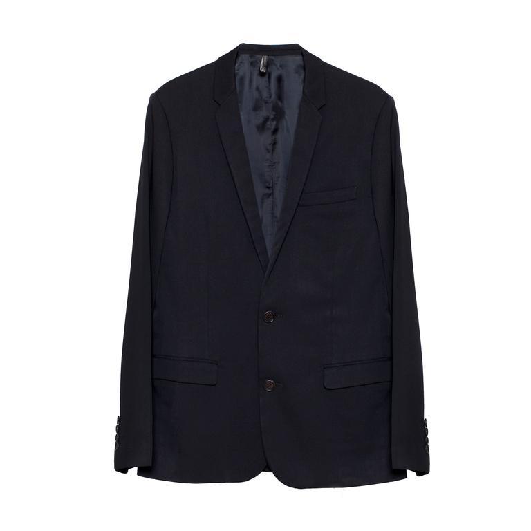 Dior Homme Men's Black Tuxedo Jacket Hedi Slimane
