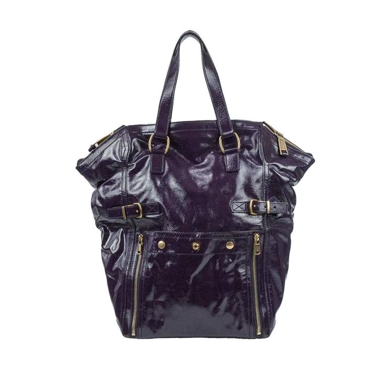377aaeb45e31 Yves Saint Laurent Purple Downtown Large Bag For Sale at 1stdibs