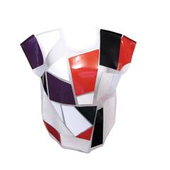 NEW Spring 2015 Junya Watanabe Geometric Box Cut Blouse