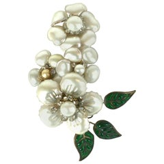 Magnificent Chanel Camellia Ear Cuff