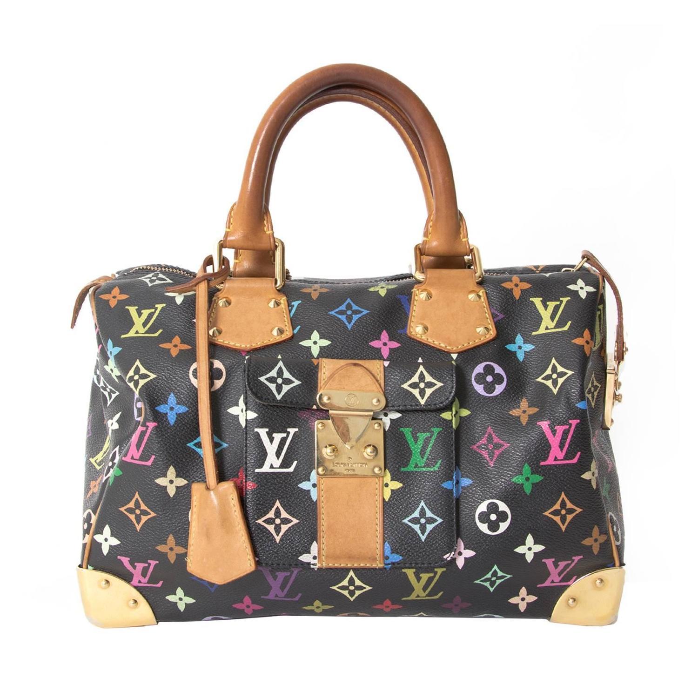Louis Vuitton Multicolor Murakami Pochette Bag Ahoy Comics