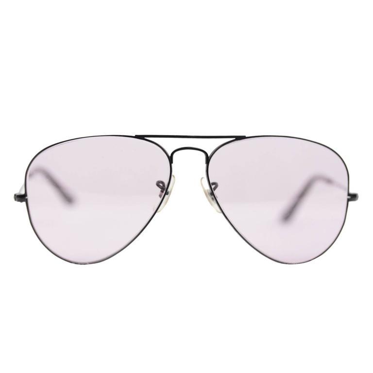 e5a777219551 Dolce   Gabbana Aviator Sunglasses Purple White