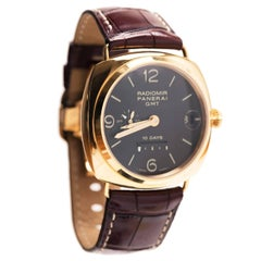 Officine Panerai Special Series Rose Gold Watch
