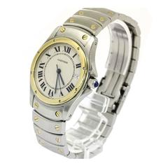 Cartier Panthere 18kt Yellow Gold and Stainless Steel Two-Tone Unisex Watch