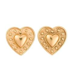 Yves Saint Laurent Heart Earrings