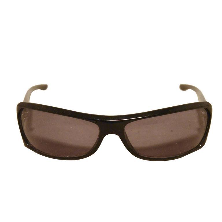 Dior Black Frame Glasses : Christian Dior Black and Silver Rectangle Frame Sunglasses ...