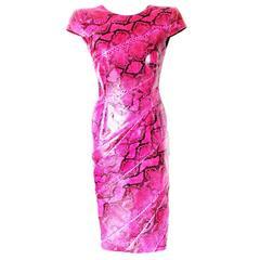 Piece Unique - Alexander McQueen SS 2008 Pink Python Dress