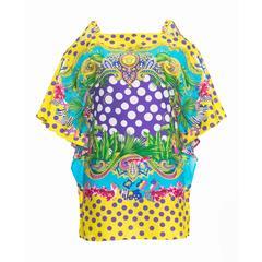 New Versace Printed Beach Dress