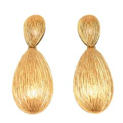 Oversized Balenciaga Drop Earrings