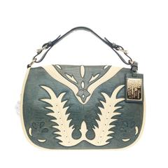 Ralph Lauren Collection Cowboy Saddle Bag Lizard