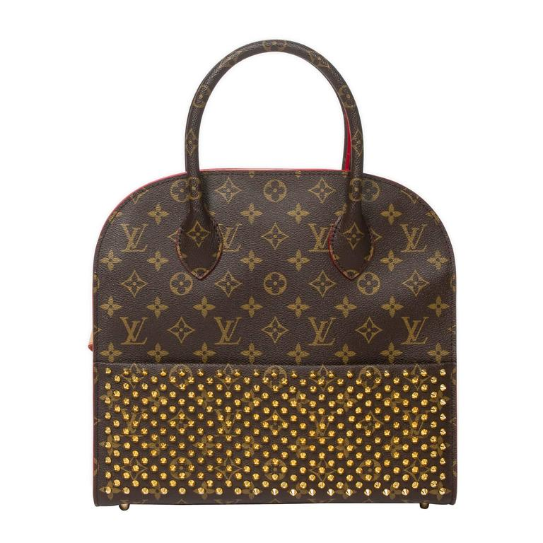 Iconoclast Christian Louboutin Shopping Bag For Sale