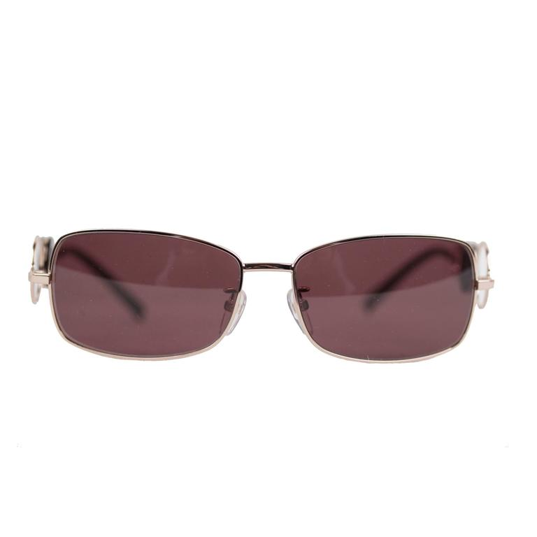c242af5c745 GIVENCHY Gold Metal SUNGLASSES SGV 210 col.300 Women RECTANGULAR Shades For  Sale at 1stdibs