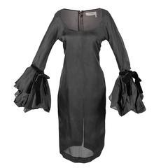 Tom Ford for Yves Saint Laurent Fall 2002 RTW Silk & Velvet dress Cate Blanchett