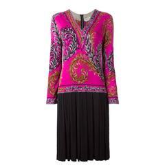 Emilio Pucci Seventies Flower dress