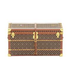Louis Vuitton Limited Edition Monogram Desk Decorative Object Mini Malle Trunk