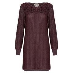 1970s Missoni for Harrods Purple Knitted Dress