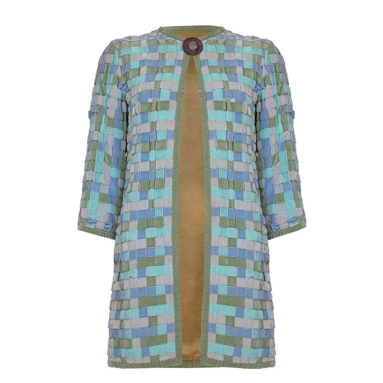 1960s Woven Velvet Ribbon Jacket
