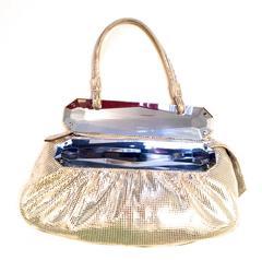 Beautiful New Fendi Bag - Fabulous Metallic - Leather and Suede