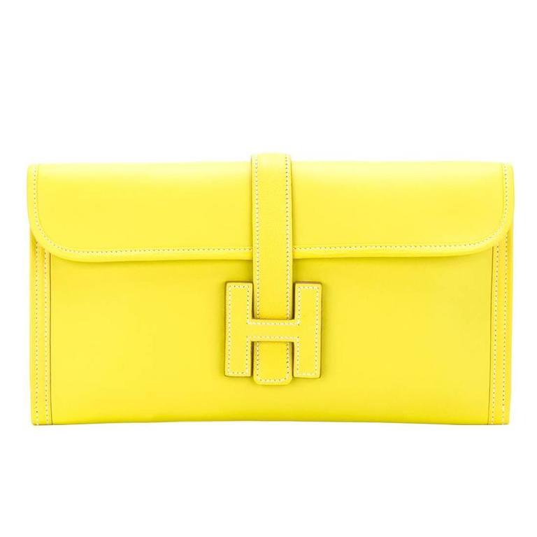 Hermes Jige Elan 29cm Clutch For Sale