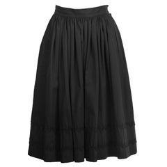 1970's Yves Saint Laurent YSL Dirnl Skirt with RickRack Detailing