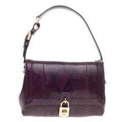 Dolce & Gabbana Miss Dolce Shoulder Bag Python Medium