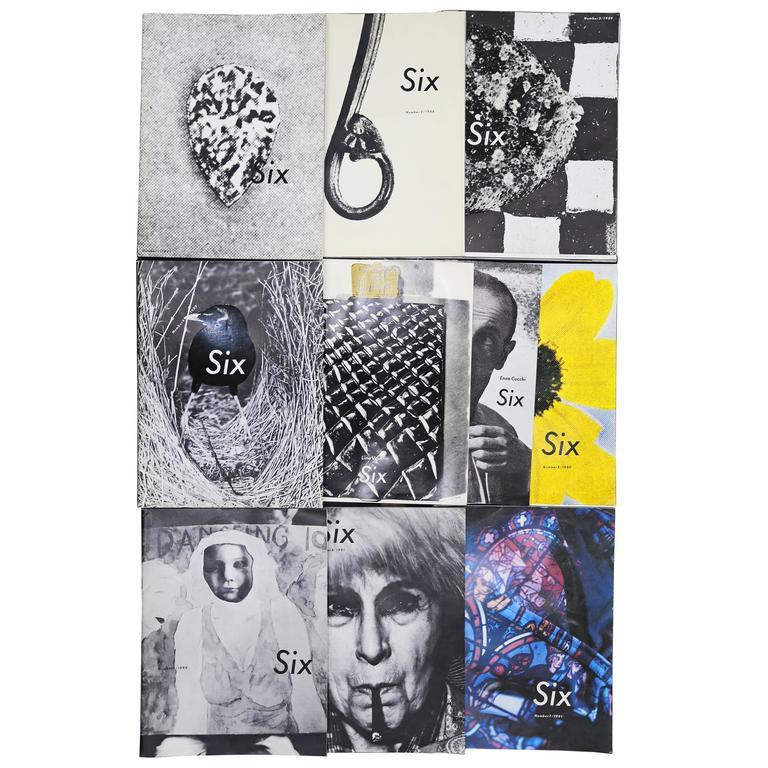 Comme des Garcons Six Sense Magazine Complete Set N° 1-8, c. 1988 - 1991