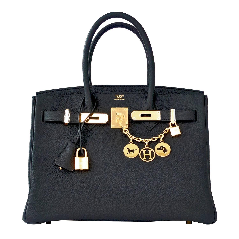 hermes women bags - Hermes Plomb Lead Grey Togo 30cm Birkin Gold GHW Bag Superb For ...