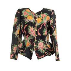 Ungaro Vintage Linen Jacket