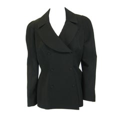 Thierry Mugler Black Suit Jacket