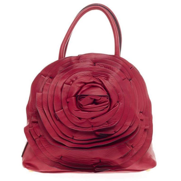 14391b50f34 Valentino Petale Dome Bag Leather at 1stdibs