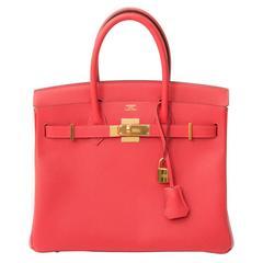 Hermes Birkin 30 Epsom Rose Jaipur