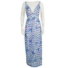 Two (2) 1970's Emilio Pucci For Formfit Rogers Slip Dresses