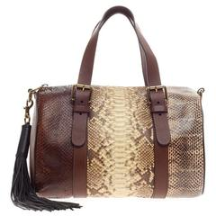 Chloe Baylee Satchel Bicolor Leather Mini For Sale at 1stdibs