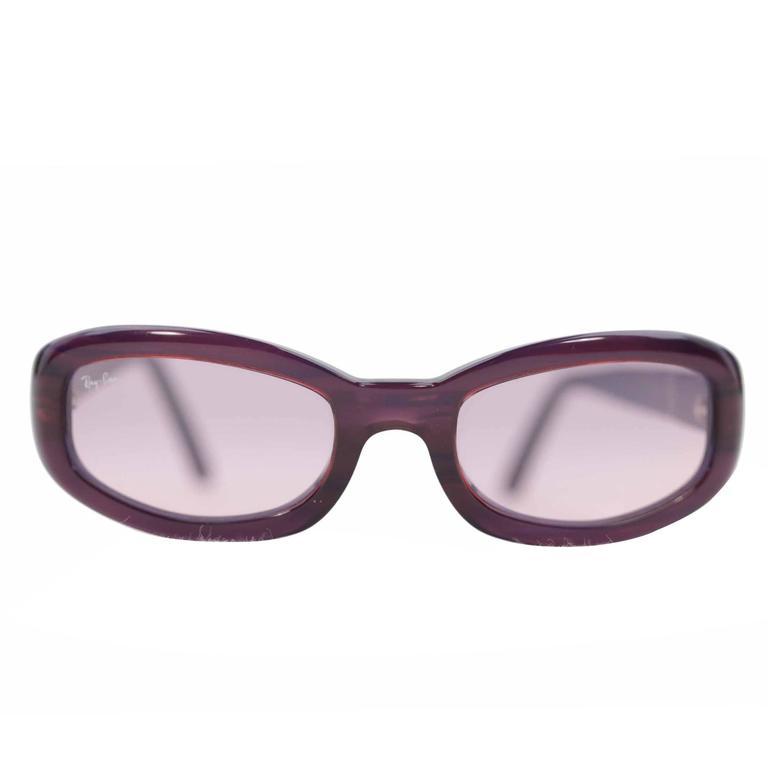RAY BAN Sunglasses RITUALS RB2111 911/2F Purple Grandient lens EYEWEAR w/CASE