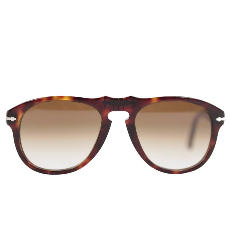 eca25a5326 PERSOL sunglasses HAVANA 649 24 51 52 20 135 2N MEFLECTO eyewear w CASE For  Sale at 1stdibs