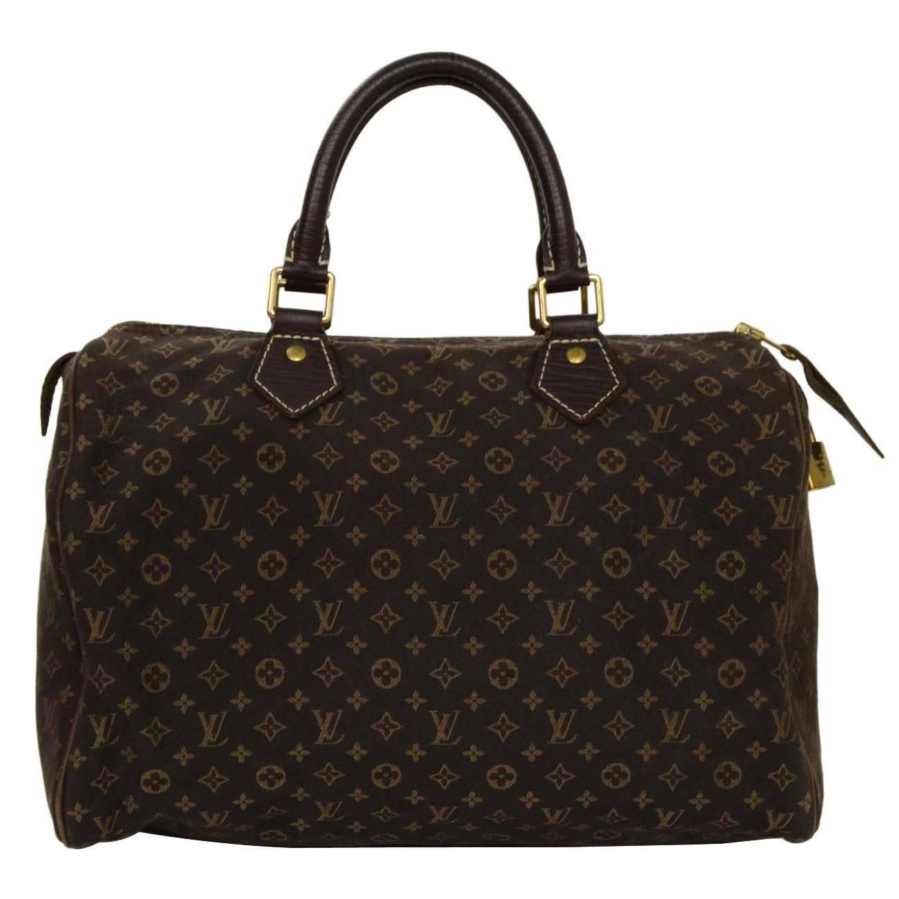 3ee3745eabf8 Louis Vuitton M41533 Speedy 30 Monogram V Tote Bag Monogram Canvas ...