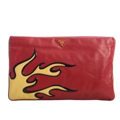 Prada Flame Clutch Spring 2012