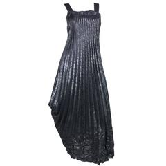 Marithe + Francois Girbaud Pleated Pinafore Dress