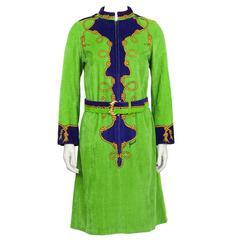 Jesurum Terry Zip Front Dress/Cover-Up