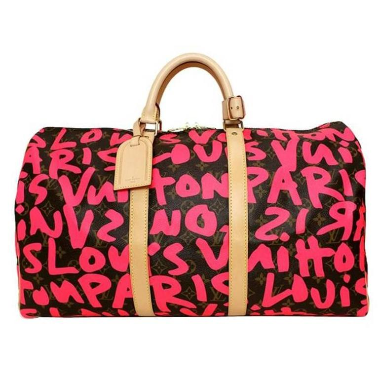 Louis Vuitton Monogram Graffiti Keepall 50 1