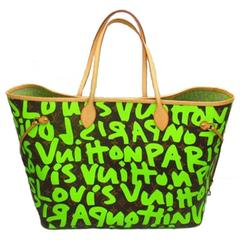 Louis Vuitton Neverfull GM graffiti M93703