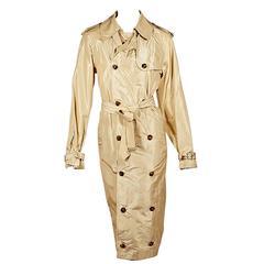 Tan Jean Paul Gaultier Trench Coat