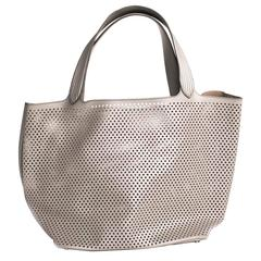 Alaïa Grey Large Tote Bag
